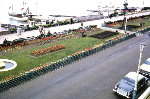 View of Eastbourne Promenade from Claremont hotel