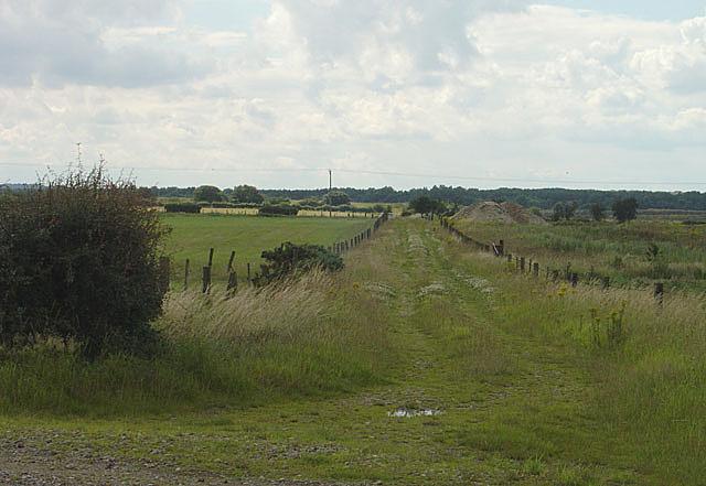 Bridleway near Misson Grange