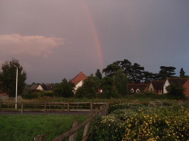 Storm approaching Powick