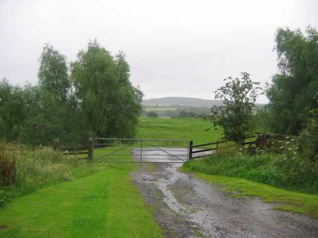 Bridleway to Beanley Hall