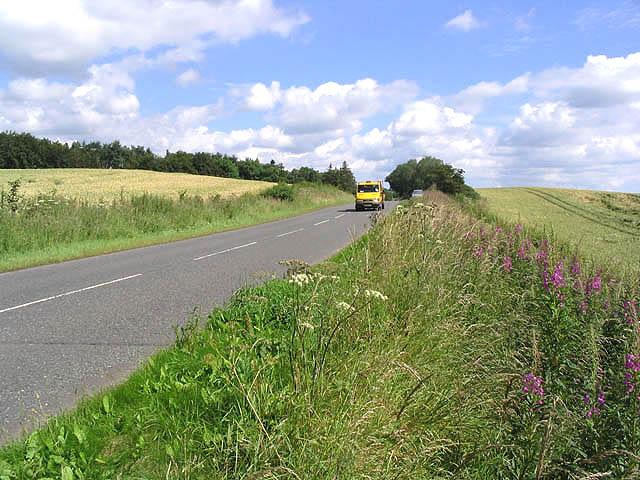 The A6105 near East Morriston