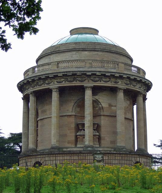 Brocklesby Park - Mausoleum