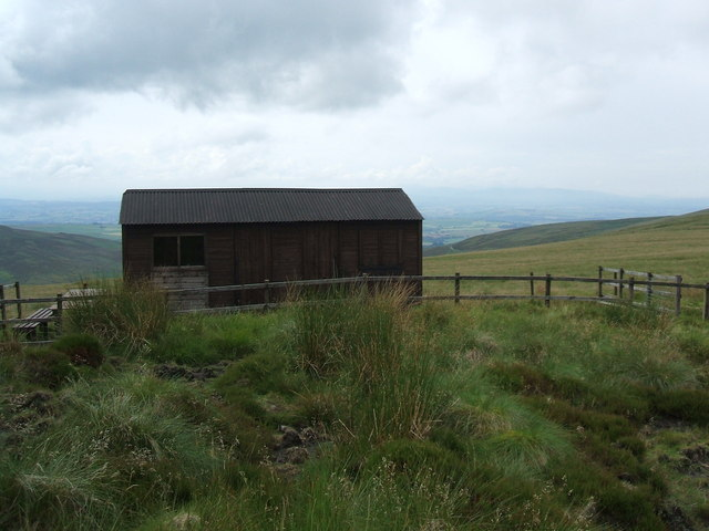 Hut on Croglin Fell