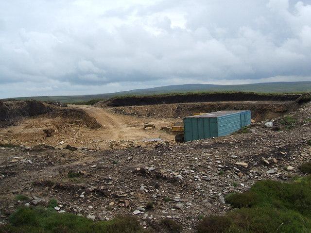 Quarry on Croglin Fell