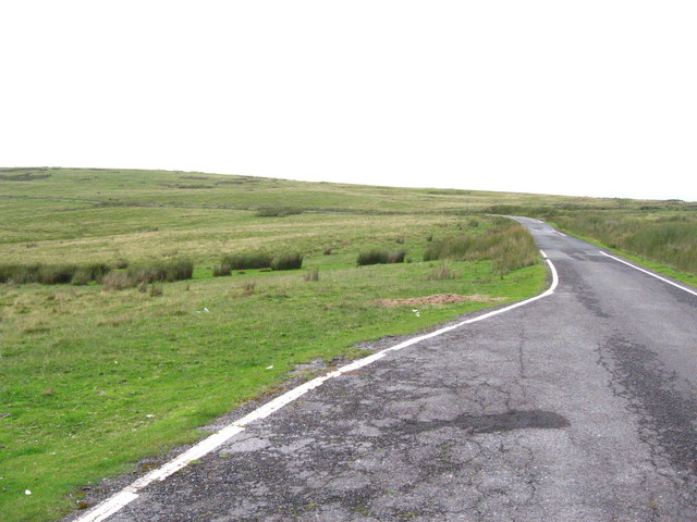 Unfenced road over Rhymney and Bedwellty Common