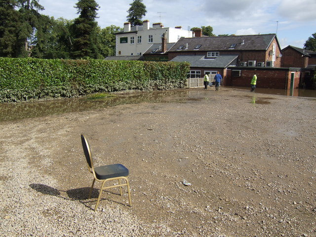 Chair in the car park