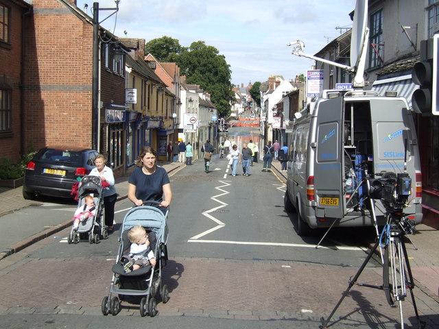 Evesham sight seeing, Sunday morning.