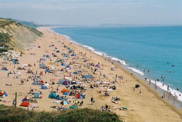 Burton Bradstock: Burton Beach