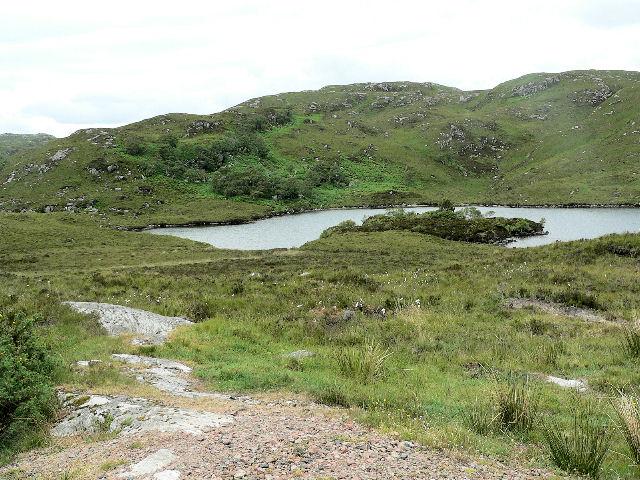 Small island on loch