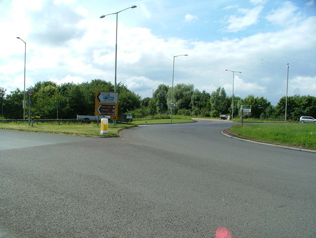 Roundabout - Junction of A40(T) and Tewkesbury Road