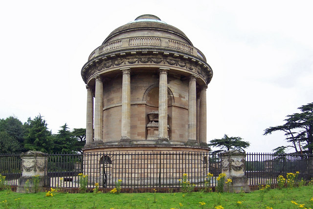 Mausoleum dedicated to Sophia Aufrere