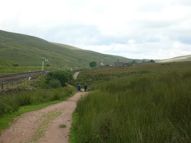 Approaching Blea Moor