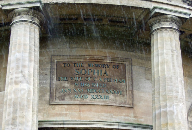 Mausoleum - Dedicatory Plaque