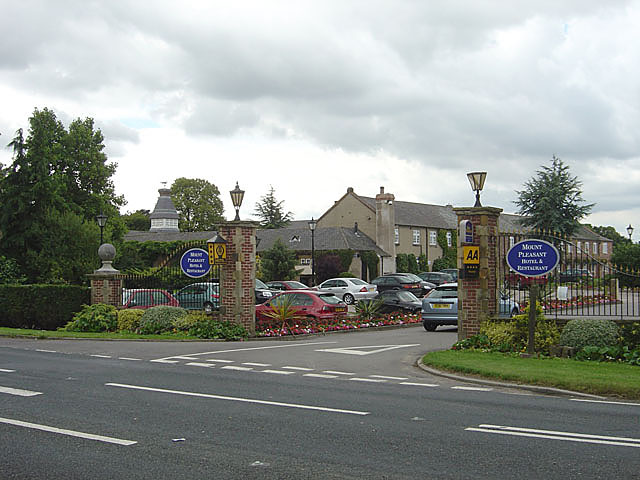 Entrance to the Mount Pleasant Hotel