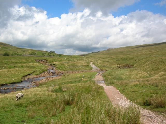Path over Blea Moor