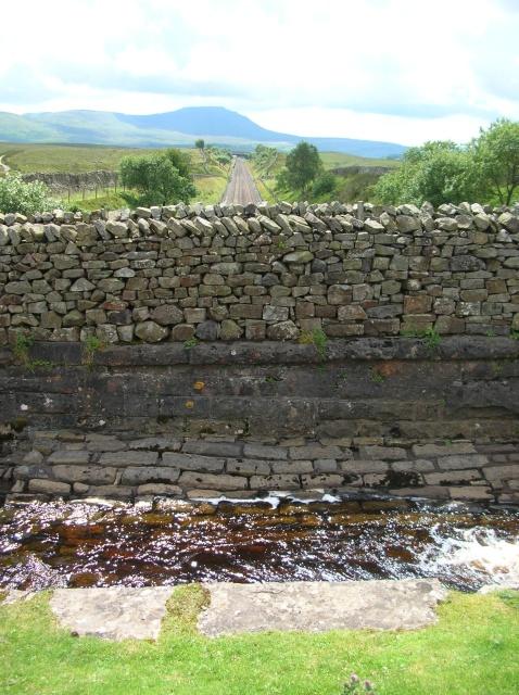 Aqueduct and railway