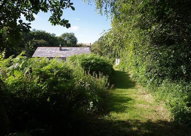 Footpath approaching The Den
