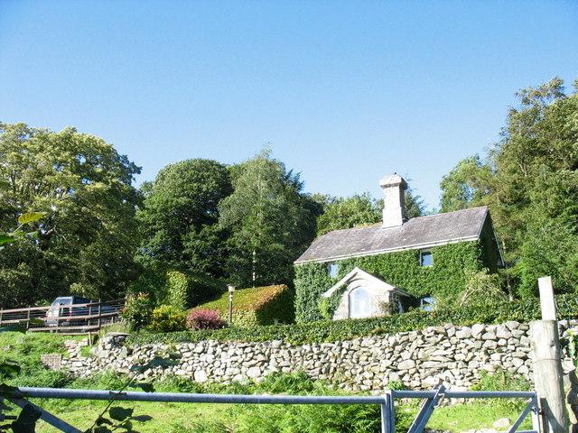 Ivy-clad Cae Gwyn cottage
