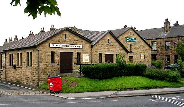 St John's Methodist Church - Stanningley