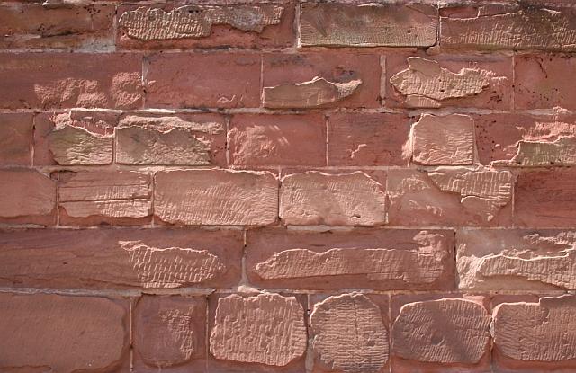 Weathered Sandstone Wall, Edgar Tower
