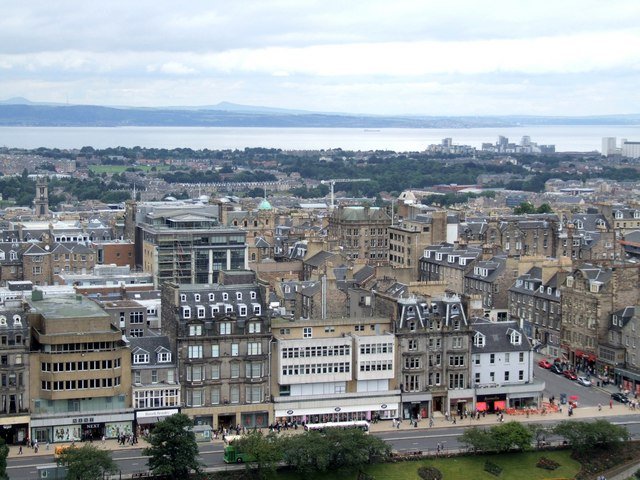 Panorama from the Castle, Edinburgh - 1 of 4