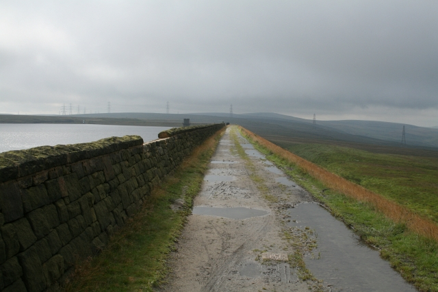 The Pennine Way at Warland.