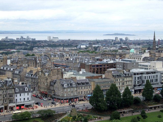 Panorama from the Castle, Edinburgh - 2 of 4