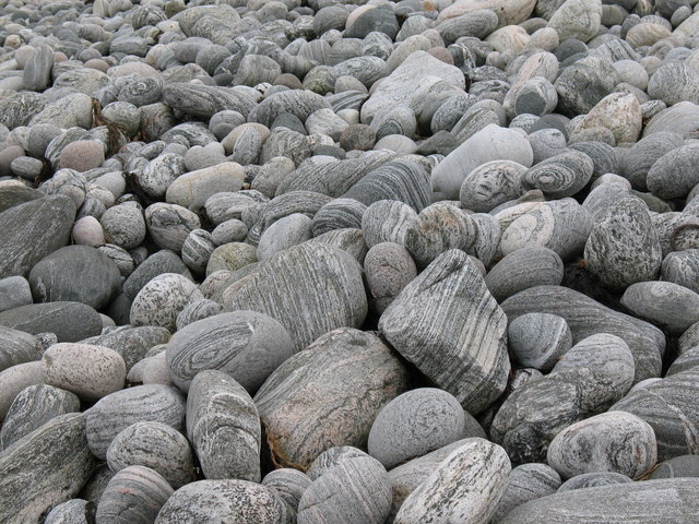 Rocks on the shore, Port Mhor Bhragair.