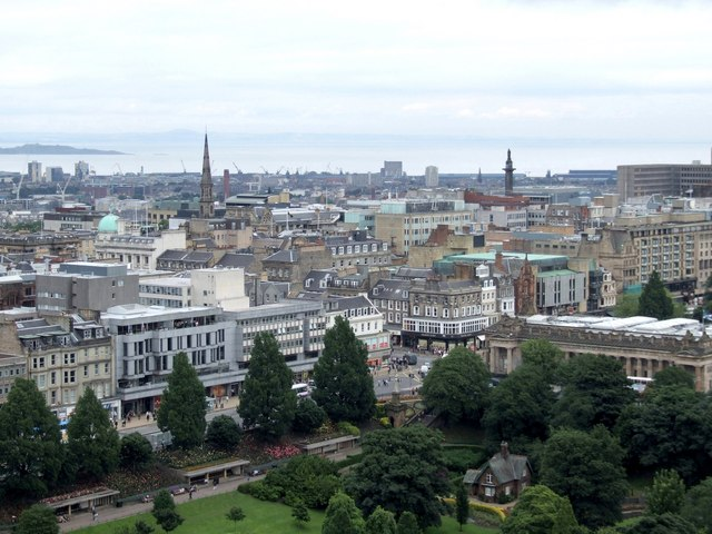 Panorama from the Castle, Edinburgh - 3 of 4