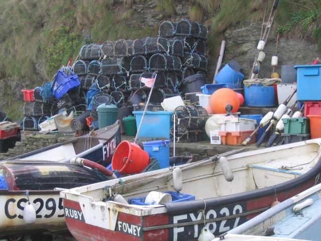 Boatyard at Gorran Haven