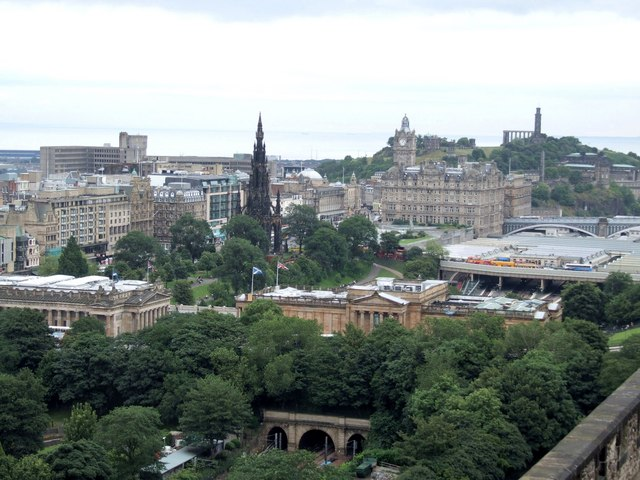 Panorama from the Castle, Edinburgh - 4 of 4