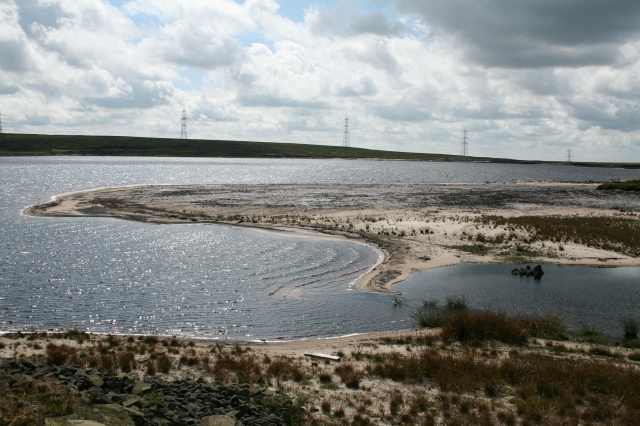 Whiteholme Reservoir.