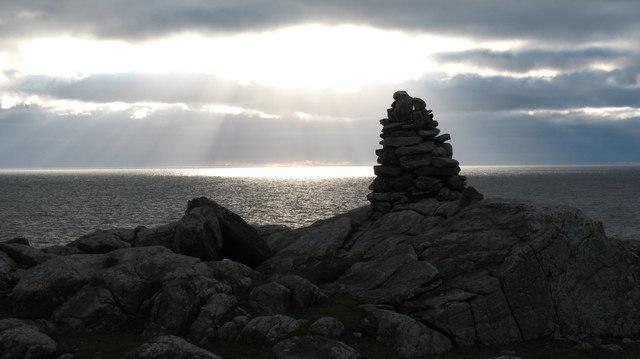 Cairn on Rubha na Beirghe