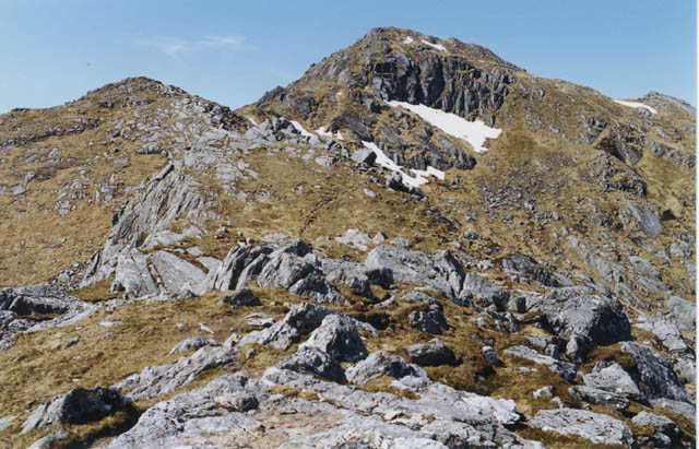 The east ridge of Luinne Bheinn