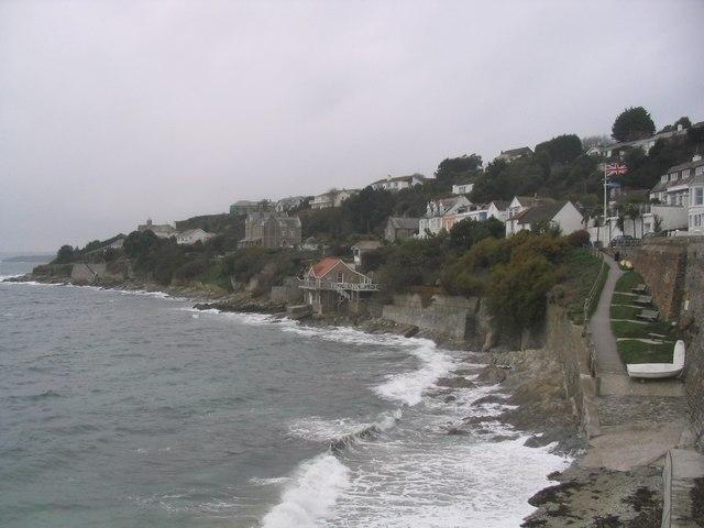 Coastline at St Mawes