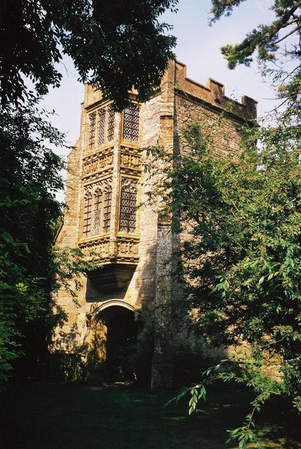Cerne Abbas: Abbot's Hall porch
