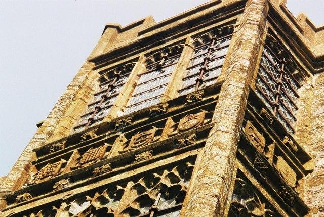 Cerne Abbas: Abbot's Hall – detail