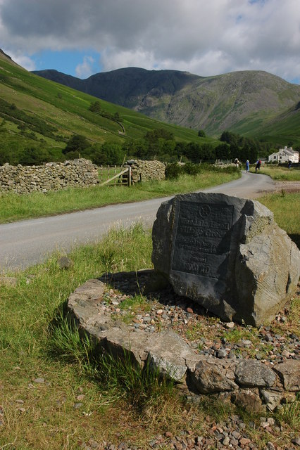 Monument at Wasdale Head Village Green