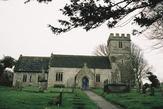 Chaldon Herring (or East Chaldon): parish church of St. Nicholas