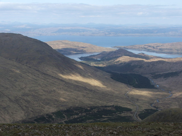 View South East from Beinn Talaidh