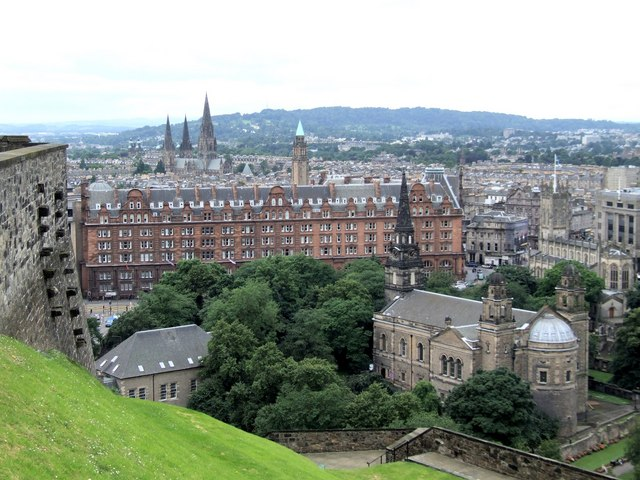 Panorama from the Castle, Edinburgh - 1 of 4 #2