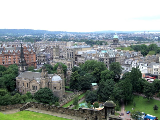 Panorama from the Castle, Edinburgh - 2 of 4 #2