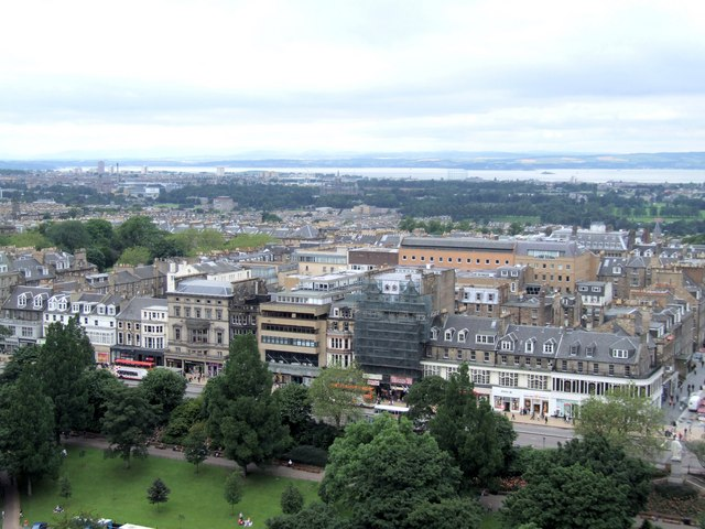 Panorama from the Castle, Edinburgh - 3 of 4 #2