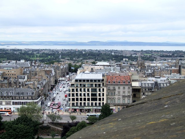 Panorama from the Castle, Edinburgh - 4 of 4 #2