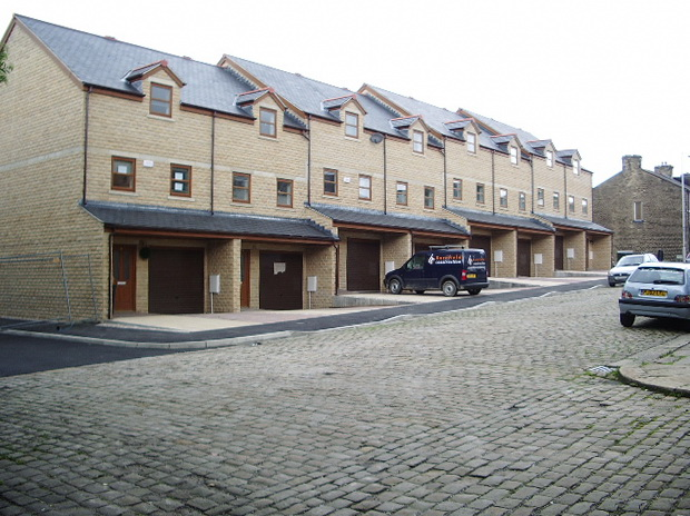 New housing on Alkincoates Road, Colne
