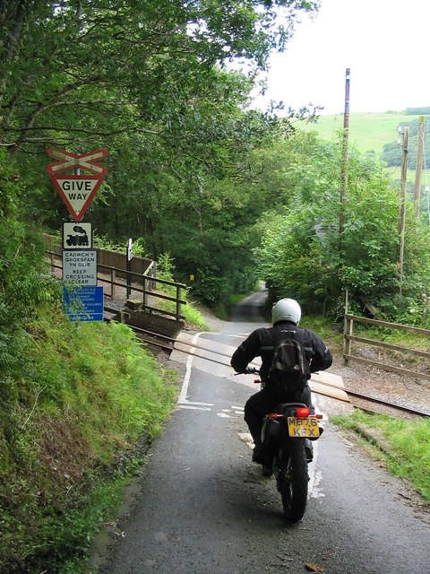 Narrow Gauge Railway Crossing
