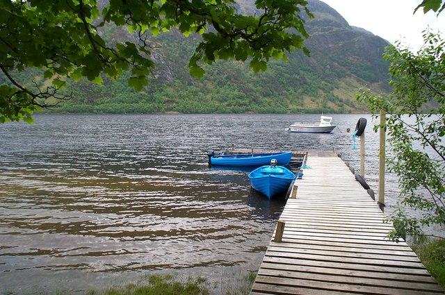 Jetty on Loch Shiel