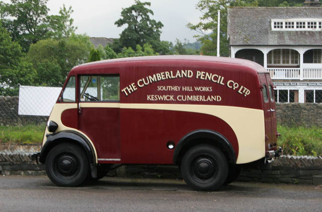 At the Cumberland Pencil Museum
