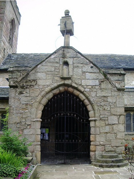 Porch, St Bartholomew's Parish Church, Colne