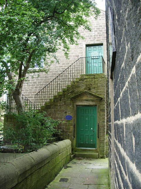 Entrance of Old Grammar School, Colne